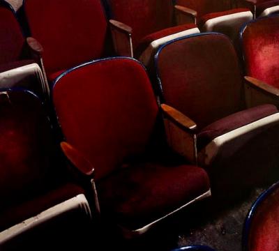 Theater stoelen Snapshot Schiedam